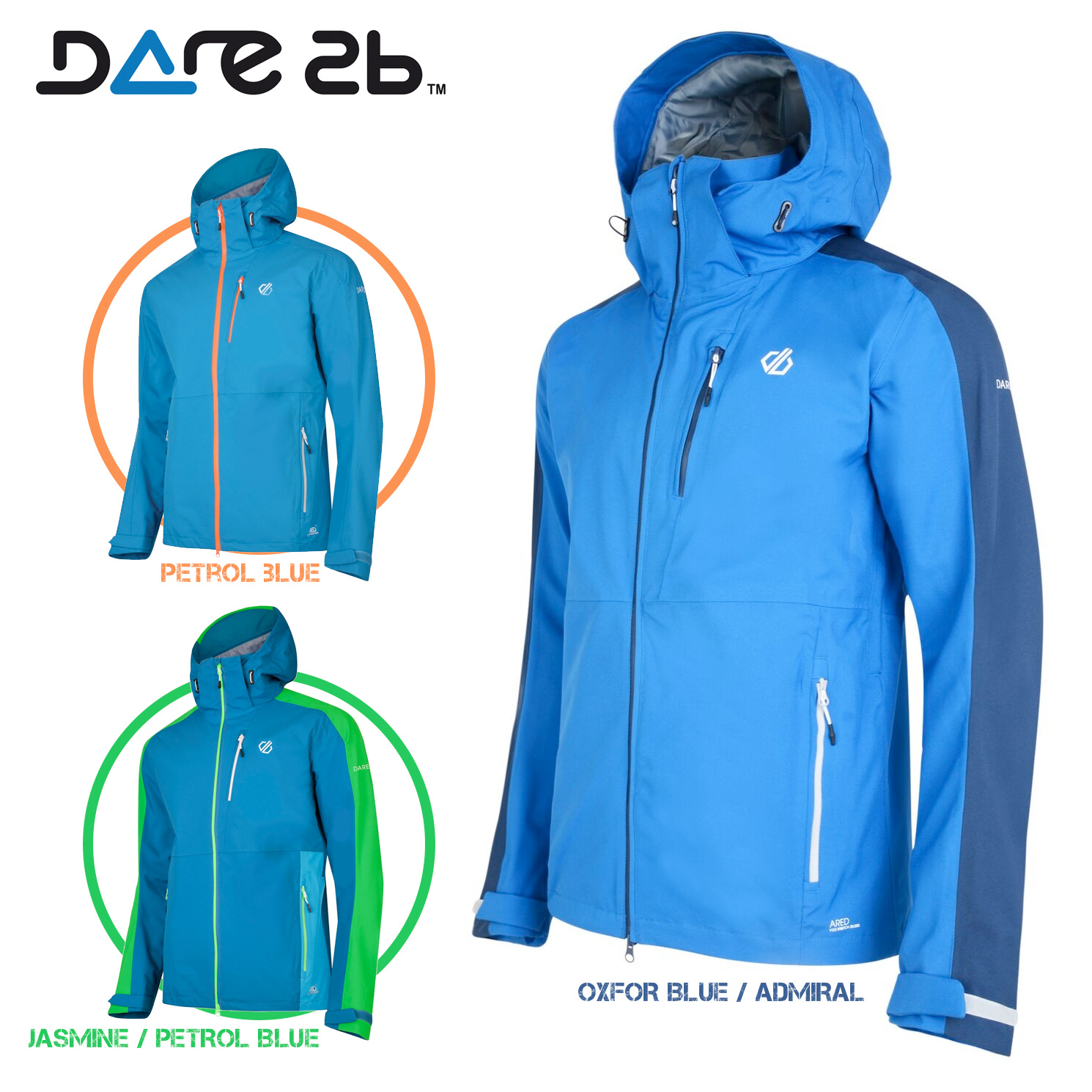 Dare2B gevoerd softshell jack