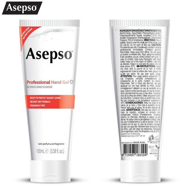 3-pack Asepso desinfecterende handgel