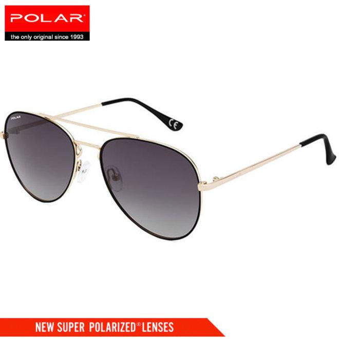 Polar 'Aviator' gepolariseerde zonnebril