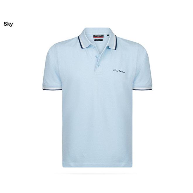 NIEUWE VOORRAAD Pierre Cardin Poloshirt met streep in 9 kleuren