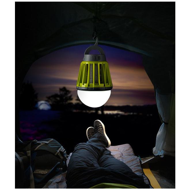 2 in 1 Mosquitokiller – Insectenlamp & gezellige buitenlamp