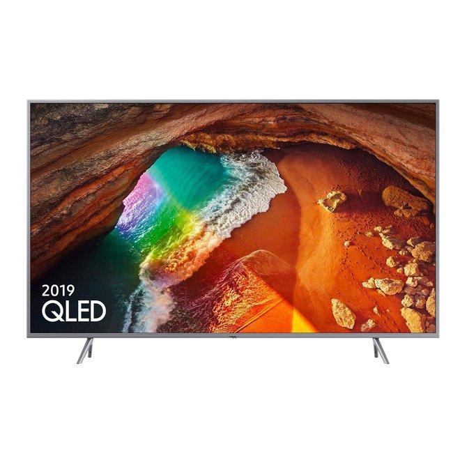 Samsung QLED 4K Q60R TV in 4 maten