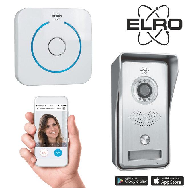Elro Smart Video Deurbel -- Zie en praat met wie er aanbelt, waar je ook bent!