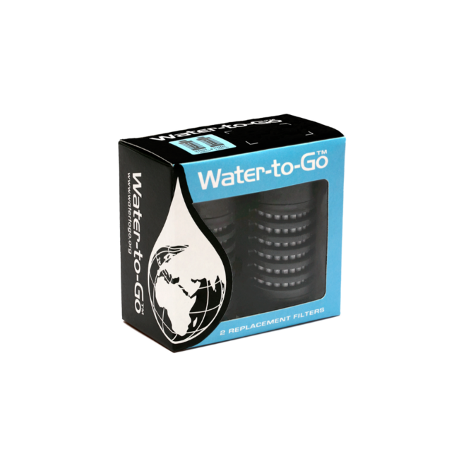 Water-to-Go Active waterfilter fles 750ml