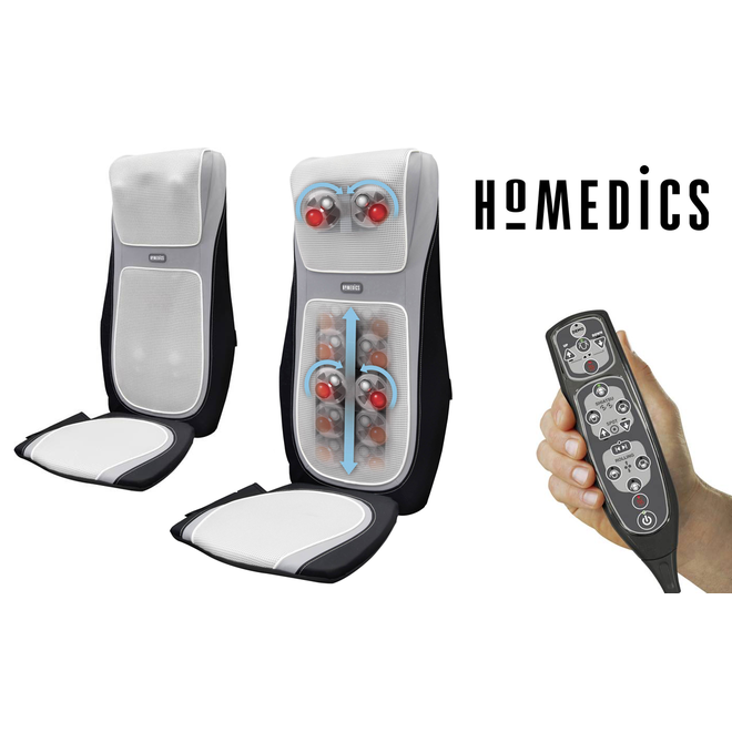 HoMedics SensaTouch Shiatsu Massagekussen met Warmtebron
