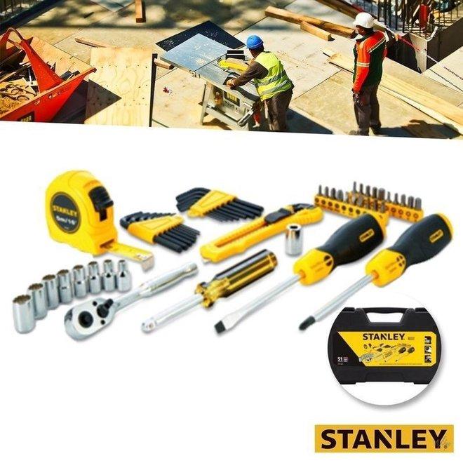 51 Delige Stanley gereedschapsset