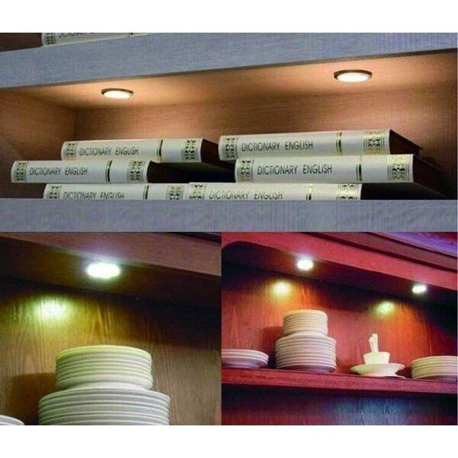 Draadloze LED Spots