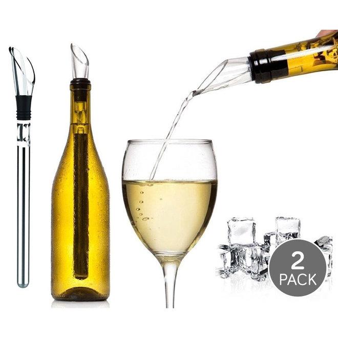 2-pack Wijnkoeler sticks