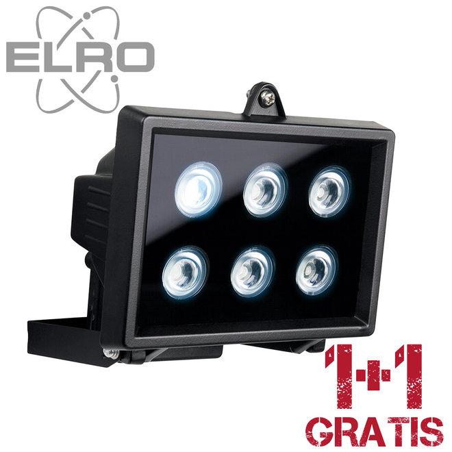 1+1 Gratis Elro LED schijnwerper voor balkon of tuin