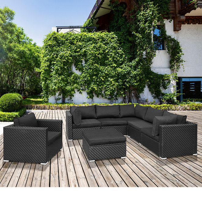 6-persoons Wicker Loungeset