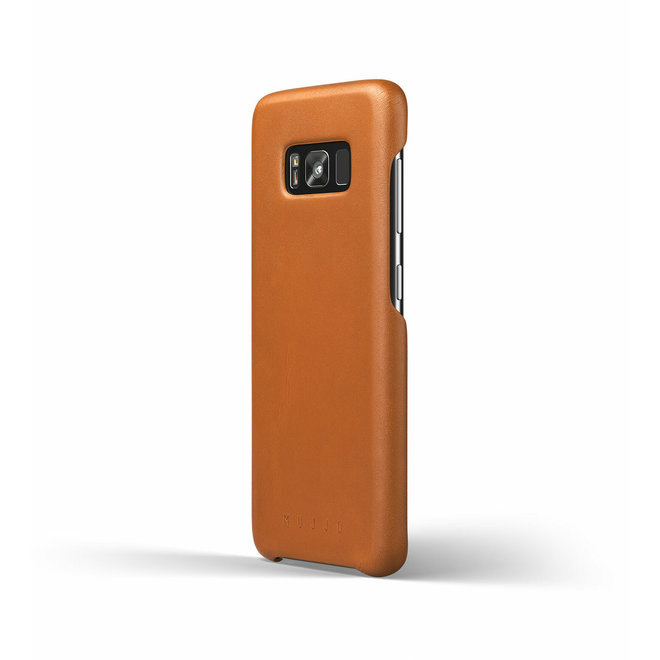 Leather Case voor Galaxy S8 Saddle Tan