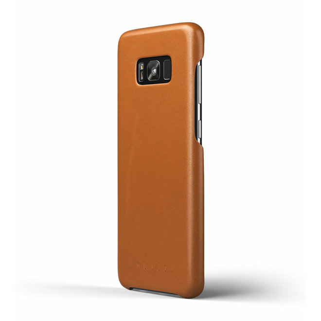 Leather Case voor Galaxy S8+ Saddle Tan