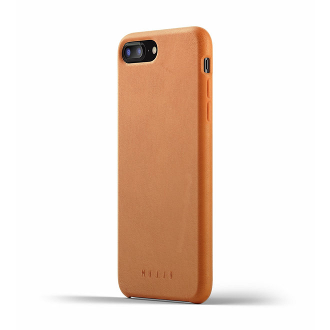 Full Leather Case voor iPhone 8 Plus / 7 Plus - Tan
