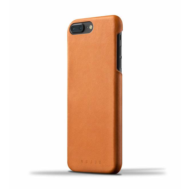 Leather Case voor iPhone 8 Plus / 7 Plus - Tan