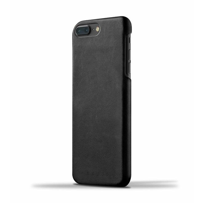 Leather Case voor iPhone 8 Plus / 7 Plus - Black
