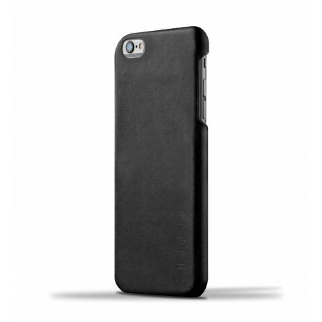 Leather Case voor iPhone 6(s) Plus - Black
