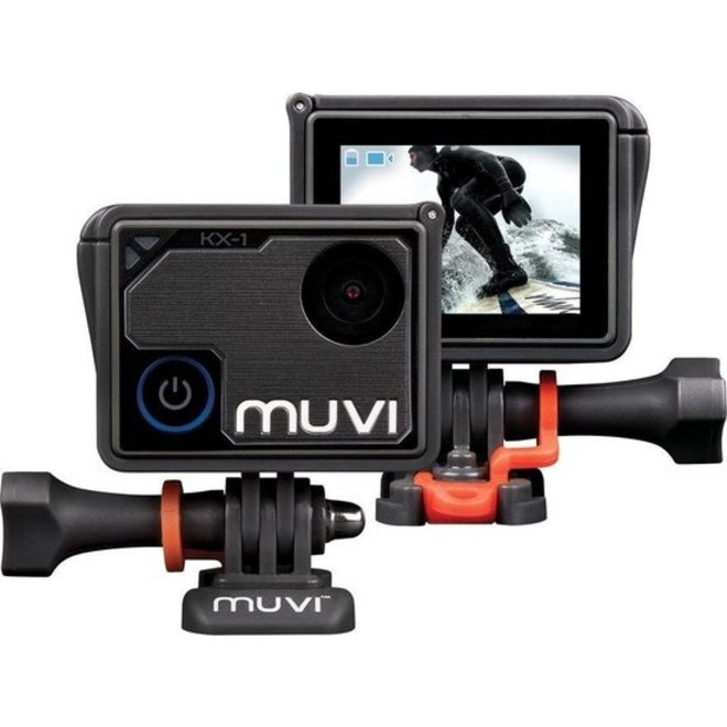 Veho Muvi KX1 4K Action Cam met WiFi - Direct streamen naar mobiel of social media!