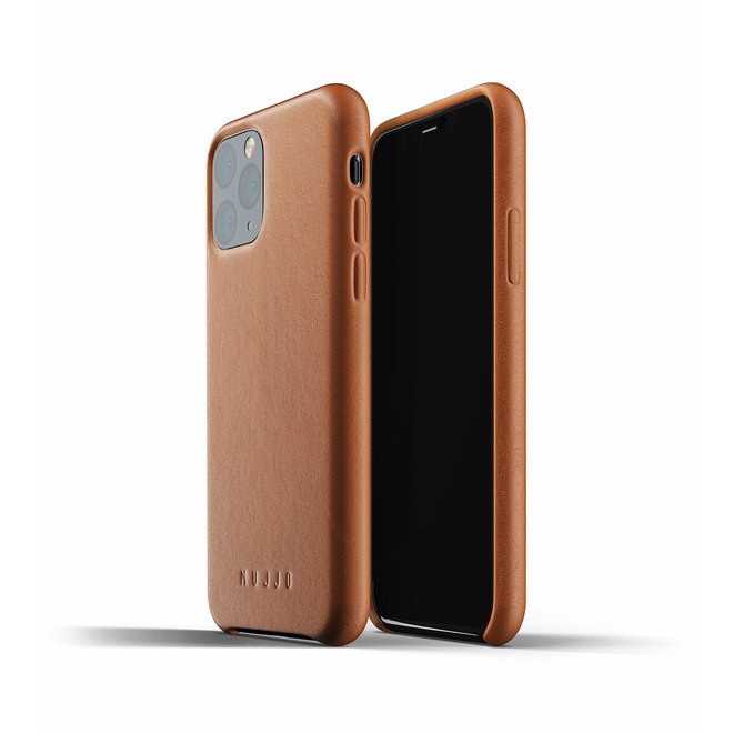 Full Leather Case voor iPhone 11 Pro - Tan