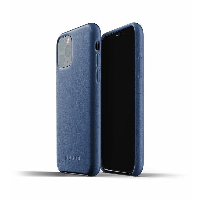 Full Leather Case voor iPhone 11 Pro - Monaco Blue