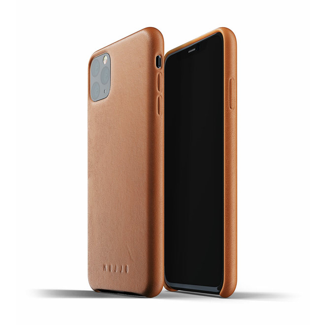 Full Leather Case voor iPhone 11 Pro Max - Tan