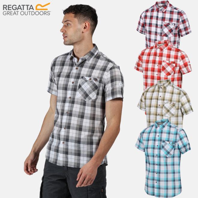 Zomers ruit overhemd van Regatta