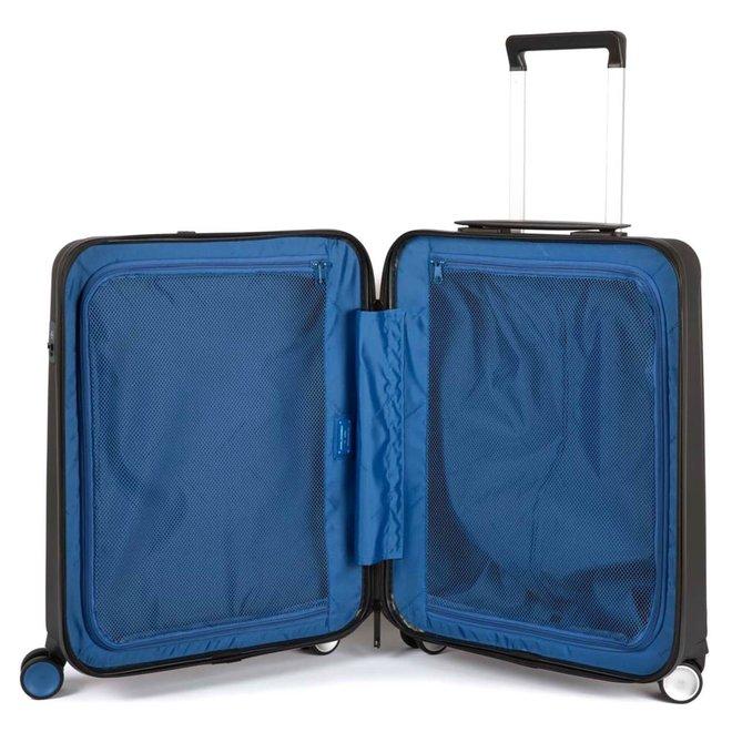 Piquadro koffer Met weegschaal, USB, bluetooth en tracking