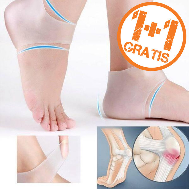 1+1 GRATIS Hielondersteuners - voor pijnloze voeten