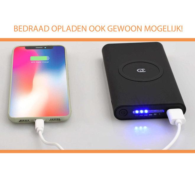 Draadloze Powerbank Snellader - Met Krachtige 10.000 mAh Batterij!