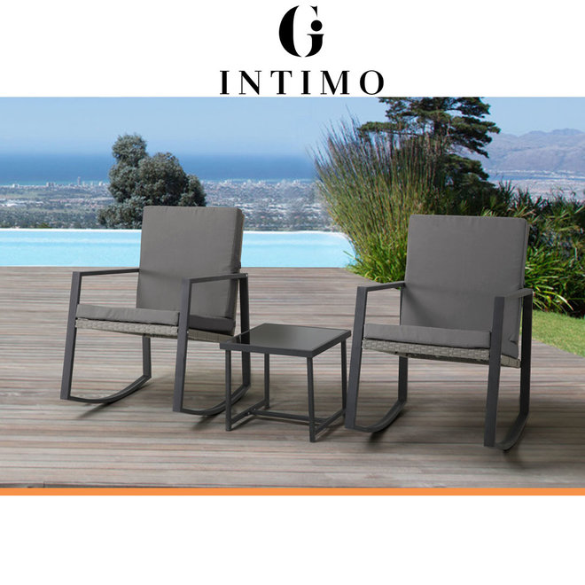 Intimo Garden Schommelstoelenset - Inclusief bijpassend tafeltje!