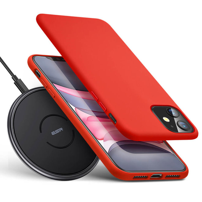 Draadloze oplader voor iOS en Android telefoons - 1 + 1 GRATIS