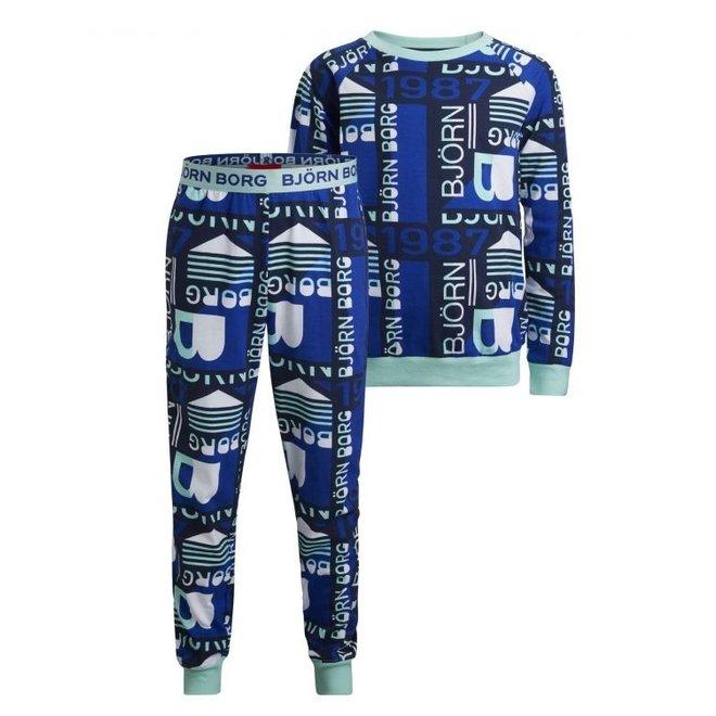 Bjorn Borg Kinderpyjama - Slaap lekker, kids!