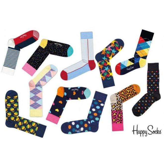 6 paar Happy Socks - Verrassingspakket