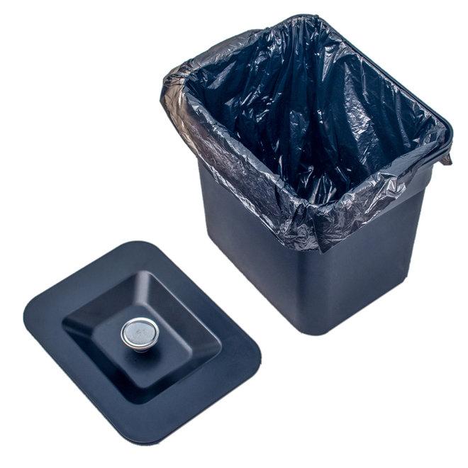 RVS Afvalscheiding prullenbak - met sensor!