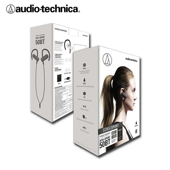 Audio-Technica Wireless Headphones - Ideaal tijdens het sporten!