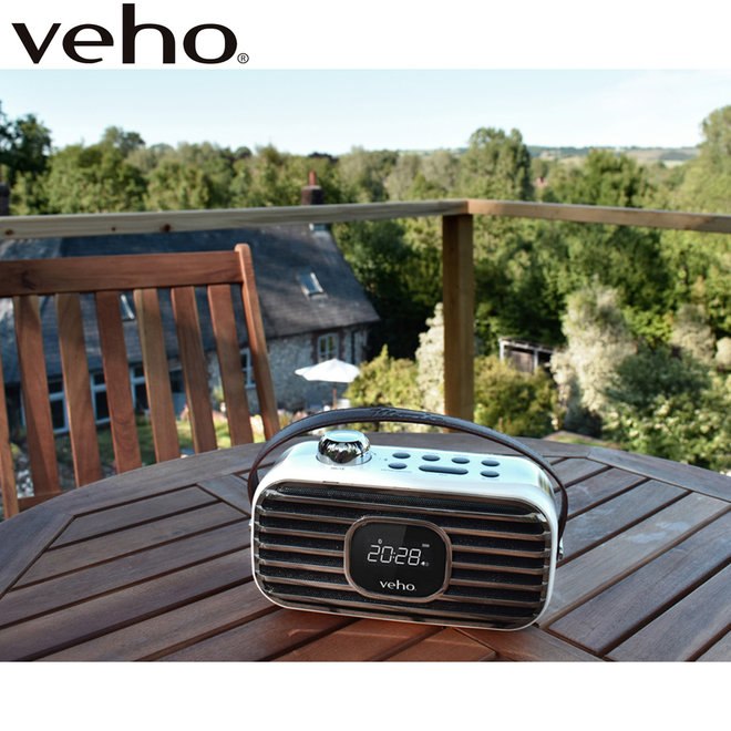 Veho MD-1 Wireless Speaker met DAB+ Digitale Radio!