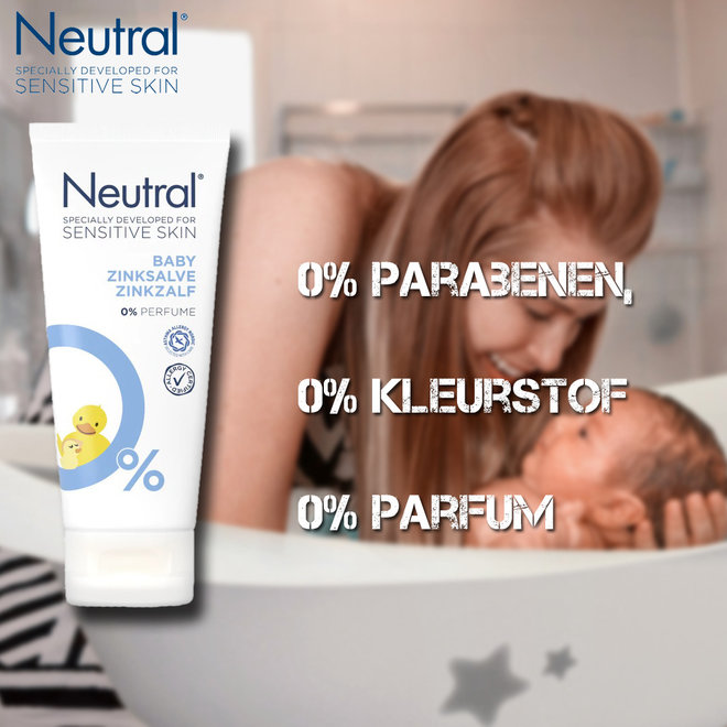 Neutral Parfumvrije Baby Zinkzalf - 6 x 100 ml