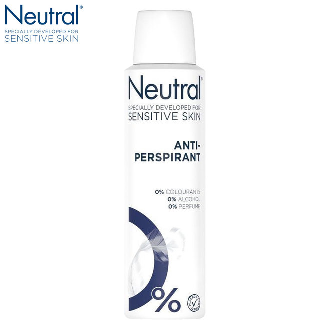 Neutral Parfumvrije Deospray Sensitive 0% - 6 x 150 ml