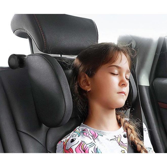 Verstelbare auto hoofdsteun voor jong en oud