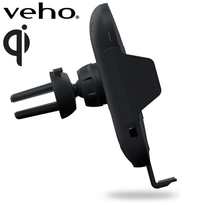 Veho TA-8 Draadloze Oplader en Telefoonhouder - met Qi technologie