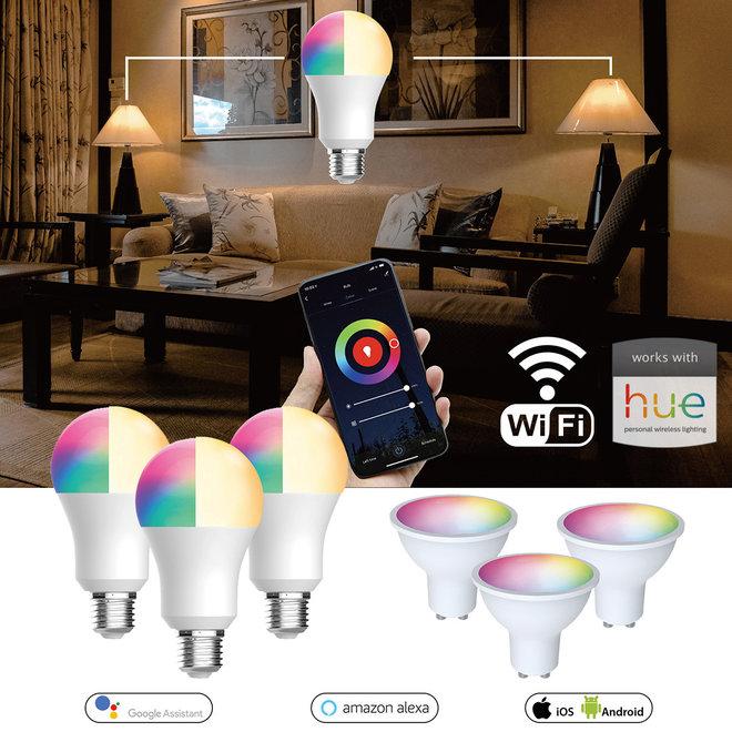 3-pack slimme lampen - Bedien je lampen met een app