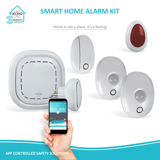 ELRO Connects Smart Home Alarm Kit