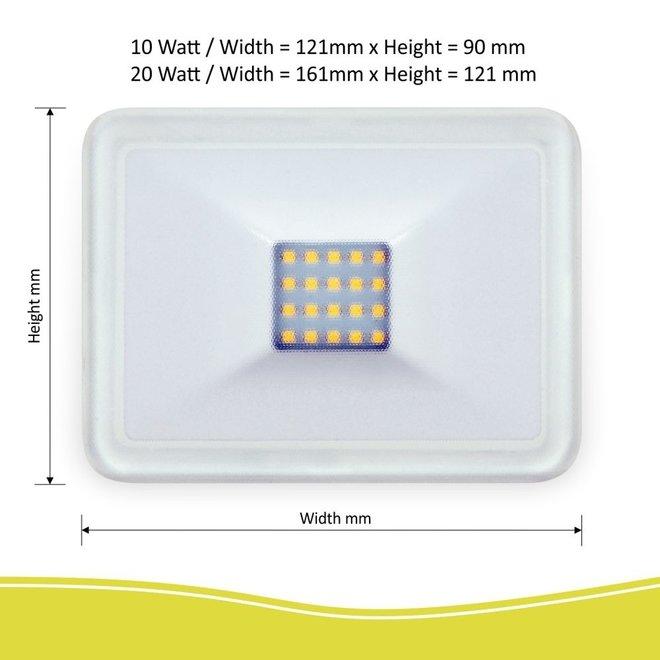 Design LED Buitenlamp 10 WATT - Wit