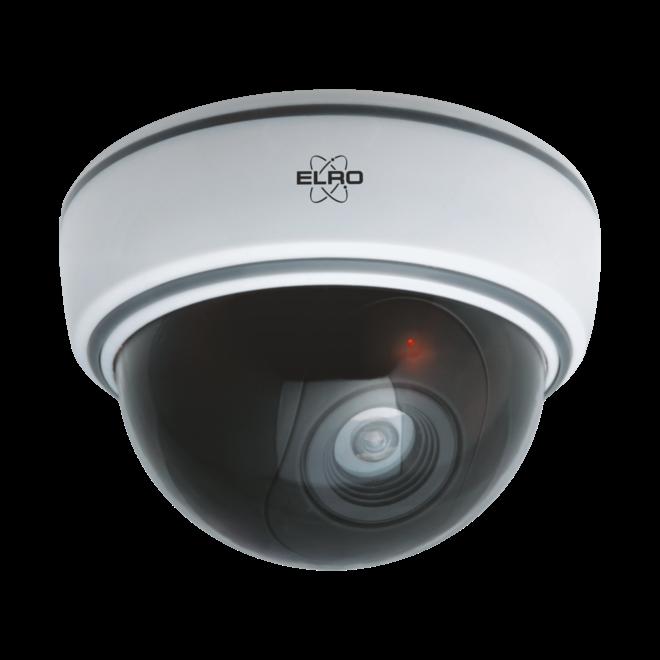 ELRO Dummy Dome Camera met flitslicht - wees de dieven te slim af! (4-pack)