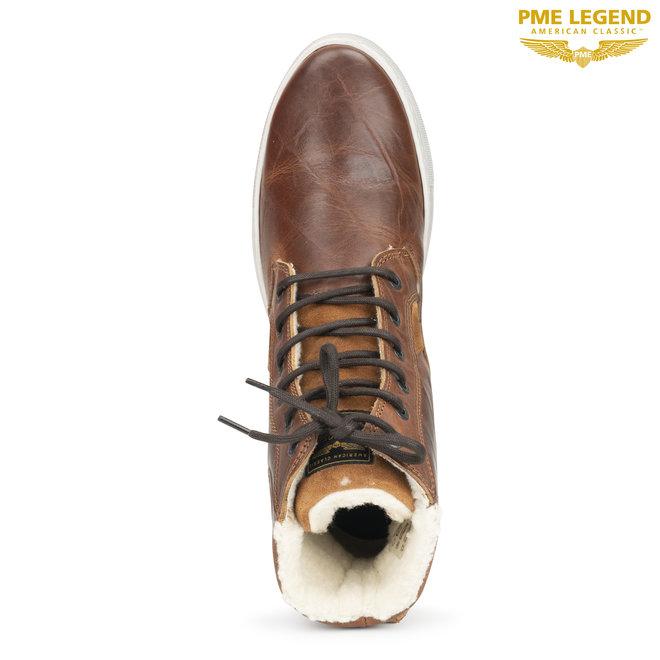 PME Legend Palmer leren schoenen met winterse voering!