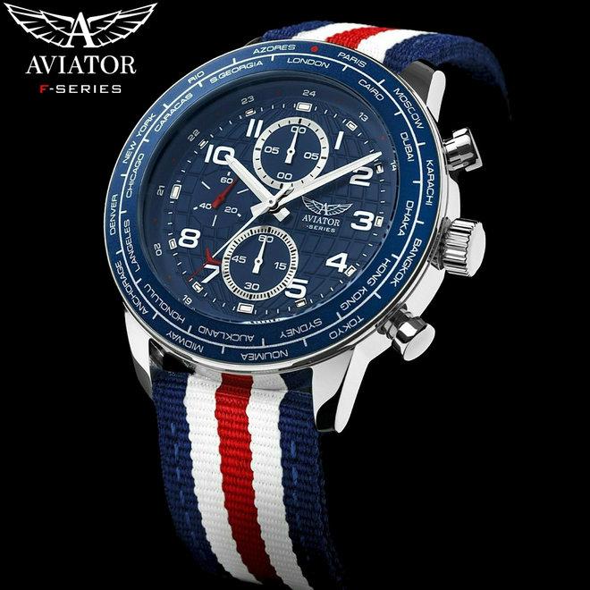 Aviator Horloge - Military Pilot Flight Series