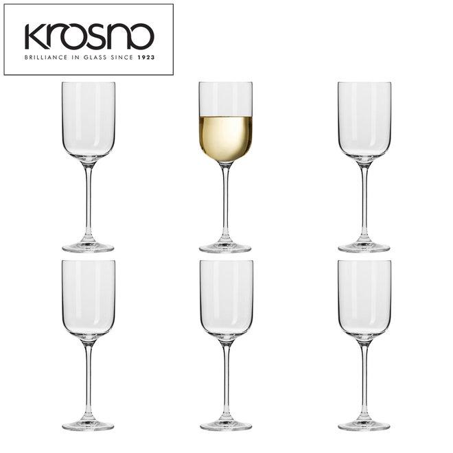 Sets van 18 ambachtelijke glazen in 3 variaties