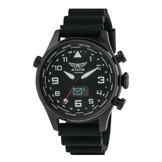 Aviator Smartwatch - Mooi, stoer en slim!