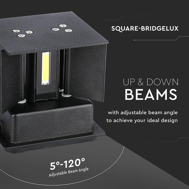 LED Wandlamp Kansas IP65 3000K - tweezijdig oplichtend