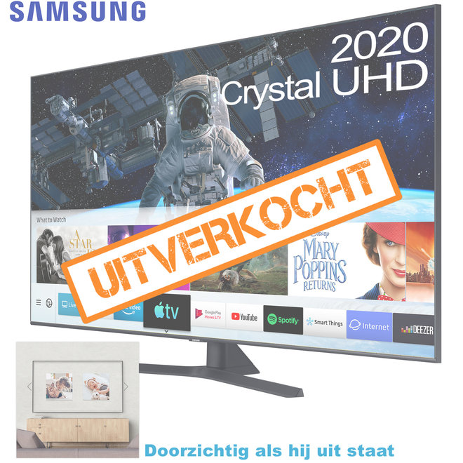 "OP=OP Samsung Crystal UHD 55"" smart 4K TV (2020 model)"