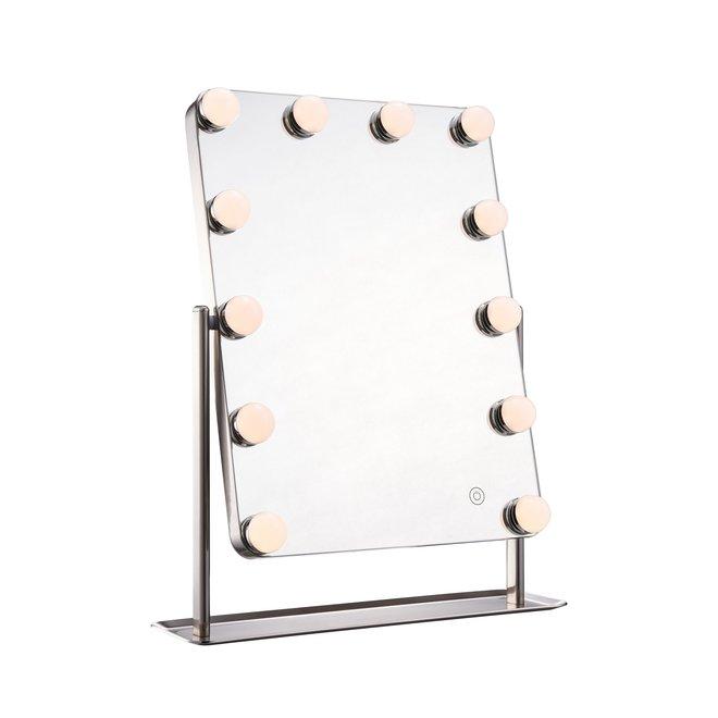 Design Hollywood Make-up Spiegel - 12 LED Lampjes
